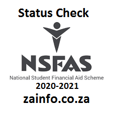 NSFAS Application Status Check 2020-2021 - South Africa ...