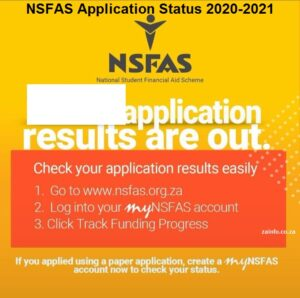 Track & check NSFAS Application Status Online 2020-2021 ...